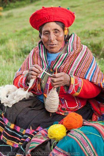 Peru poncho